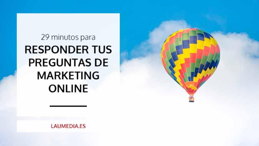 Respondo todas tus preguntas de Marketing Online para tu negocio en directo