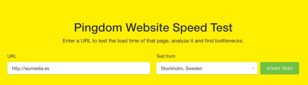 Descubre la velocidad de carga de tu web